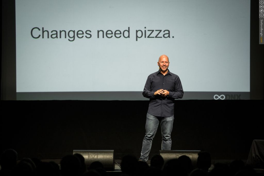 Derek Sivers, founder of Cd Baby, at DNX Global 2015