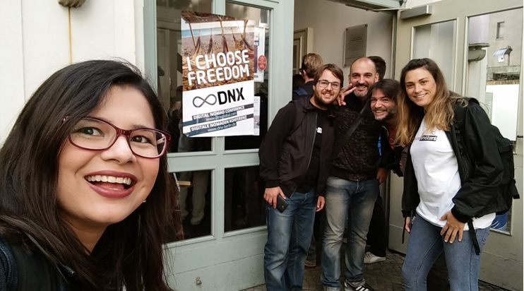Remoters & Friends: Aleyda, Christian, Javier, Stefano & Elisa at DNX Global