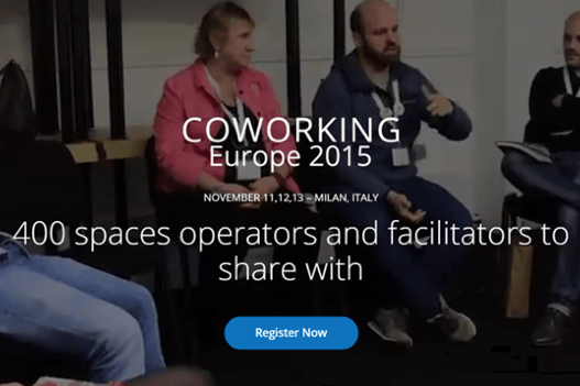 Coworking Europe Conference 2015