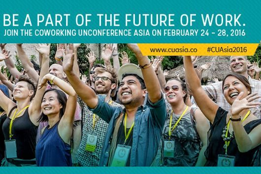 Coworking Unconference ASIA 2016
