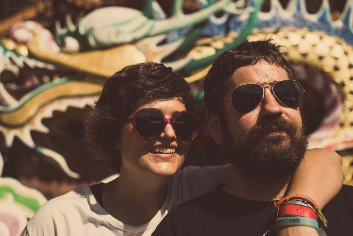 Tamara Lucas e Iván Fanego, de 2Geeks1City