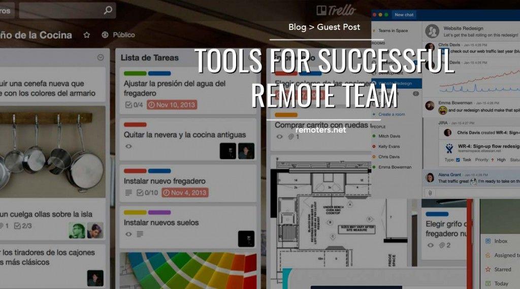 Tools for successful remote teams