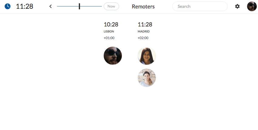 Where are remoters team? timezone.io