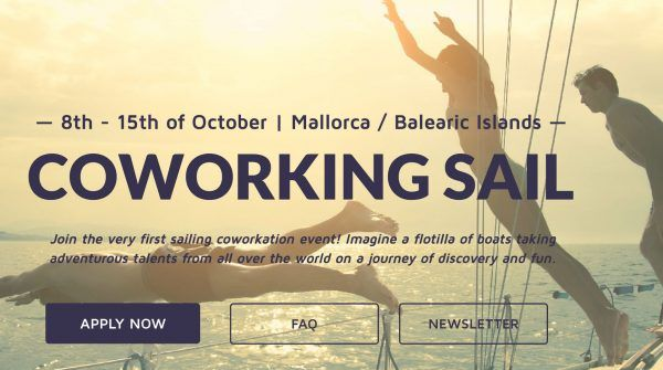 Coworking sail retreats for digital nomads remote work - Coworking mallorca ...