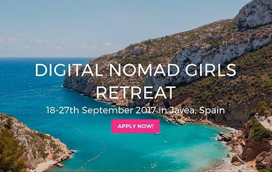 Campamento para mujeres digital nomad