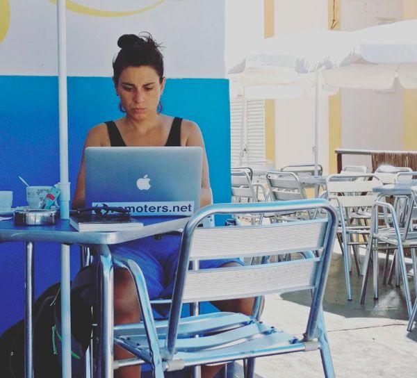 Elisa en Al Fresco, Zambujeira do Mar