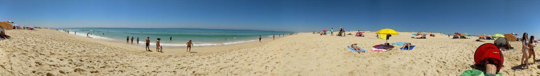 Panorámica Praia do Carvalhal