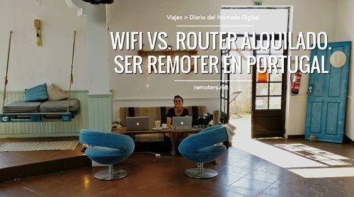 Opciones de Conexión a Internet para Remoters en Portugal