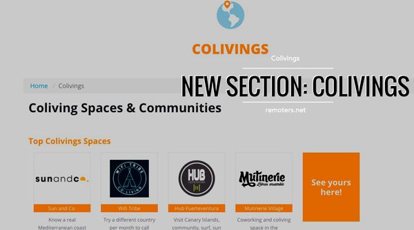 Colivings around the World: Announcing a New Section on Remoters!