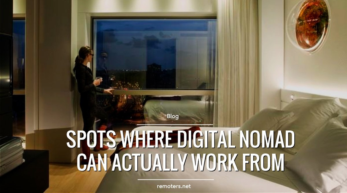 5 spots where digital nomads can actually work from