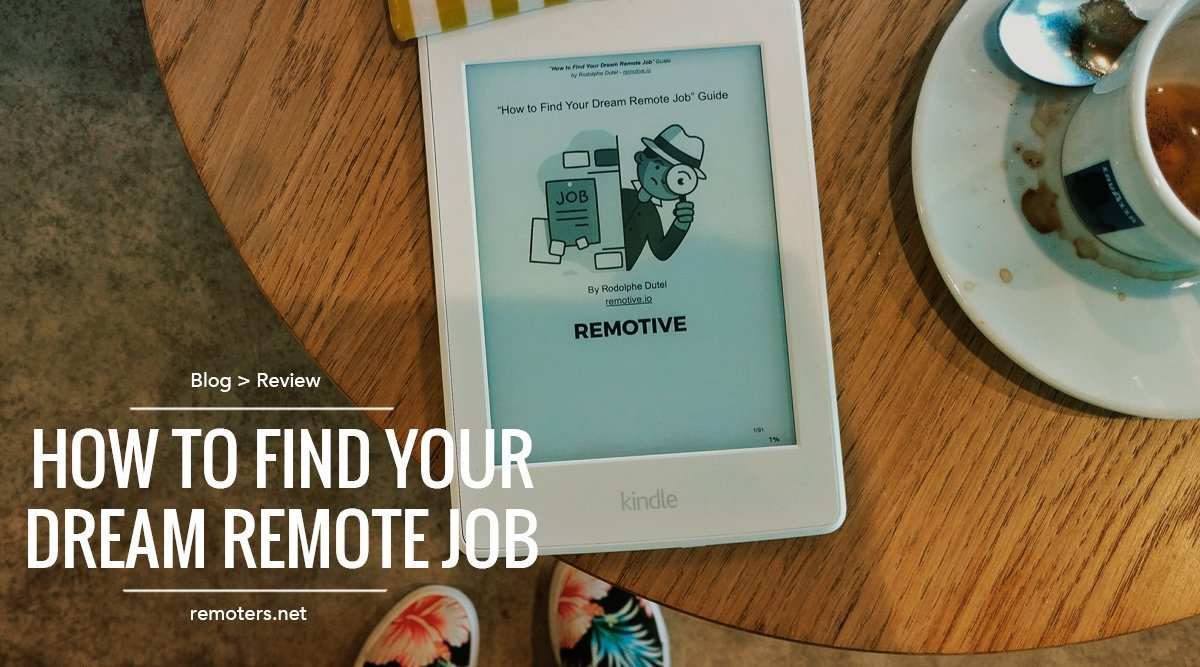 """How To Find Your Dream Remote Job"" – Reseña del libro"