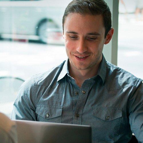 Zack Reboletti from Get web focused
