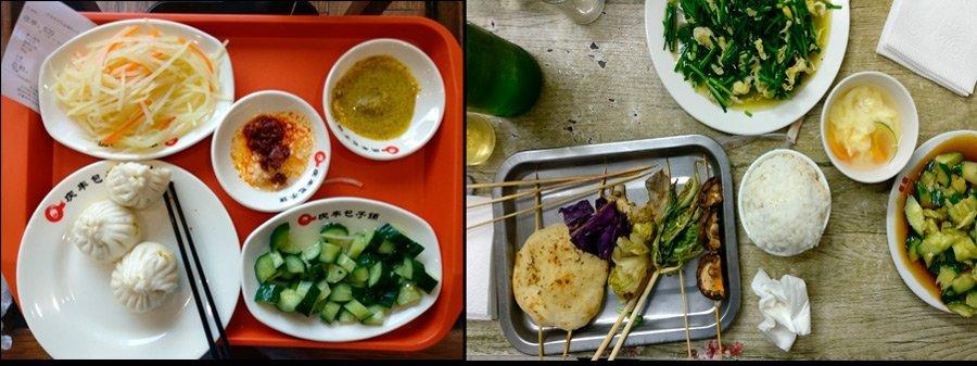 Comida Vegetariana China