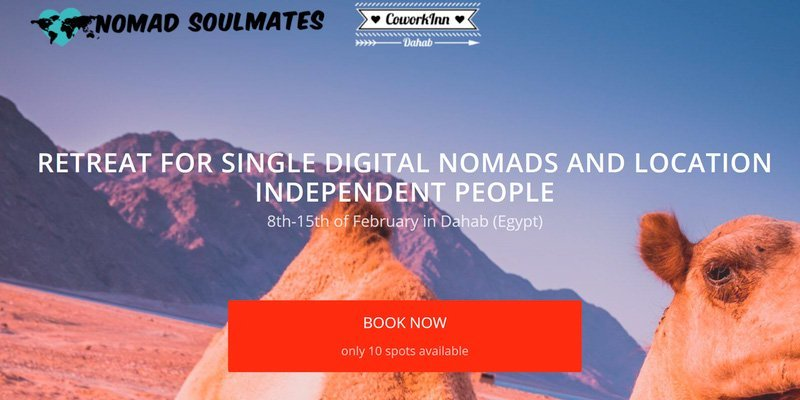 Nomad Soulmates Retreat – Dahab
