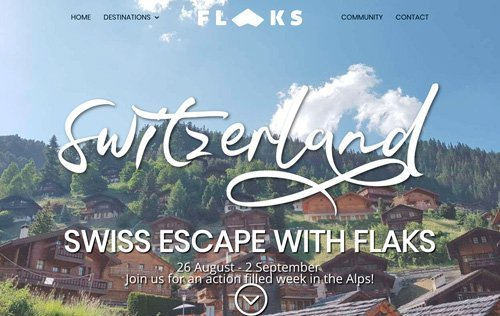 Swiss Escape with Flaks