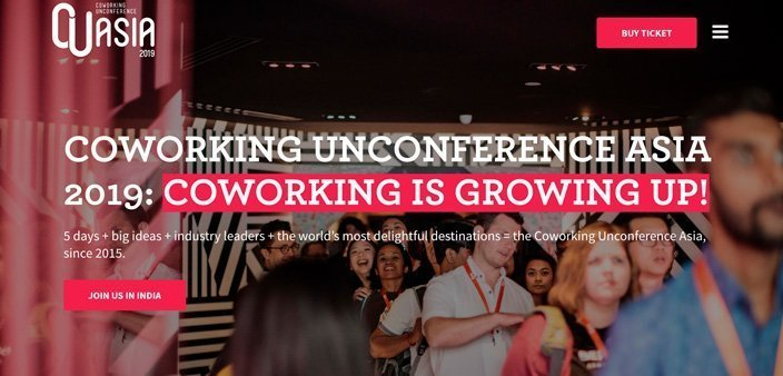 Coworking Unconference ASIA 2019