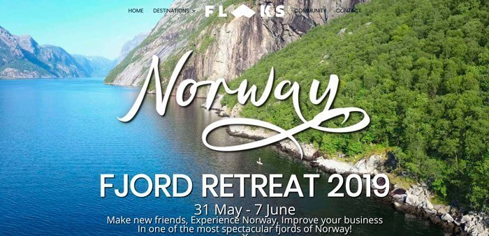 Flaks Norway Retreat June 2019