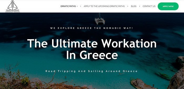Nomad Sailing Retreat in Greece May 2019