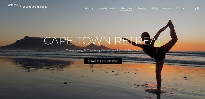 Work Wanderers Cape Town Retreat