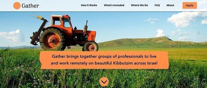 Kibbutz Gather Retreat. January 2020