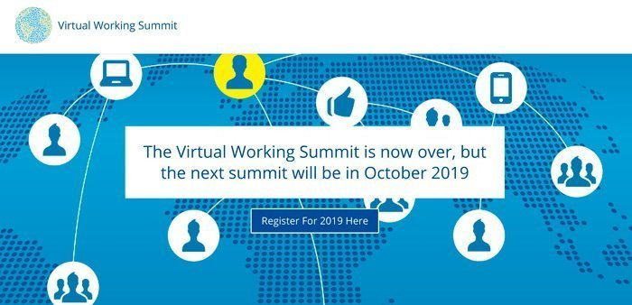 The Virtual Working Summit 2020