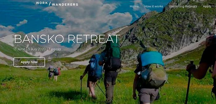 Work Wanderers Retreat