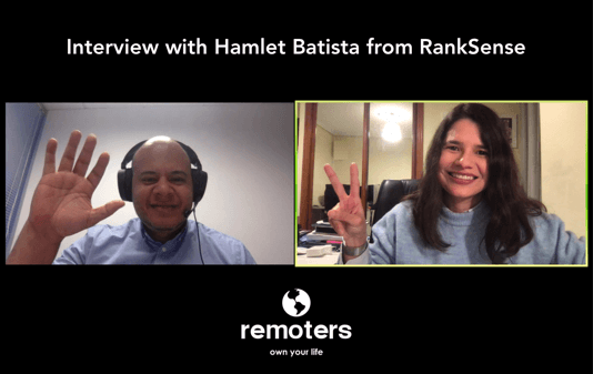 Interview with Hamlet Batista, CEO at RankSense