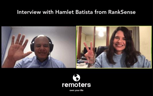 Interview with Hamlet Batista, CEO at RankSense