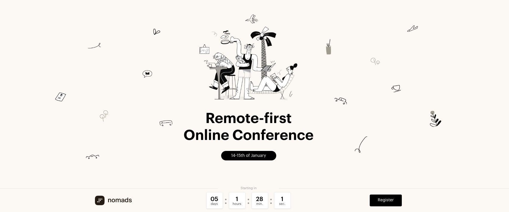 Remote-first Online Conference