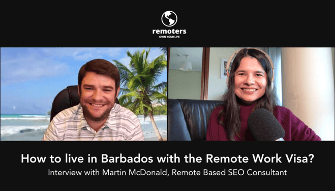 How to Live in Barbados with the Remote Work Visa? An Interview with SEO Consultant Martin McDonald