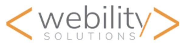 Logo Webility
