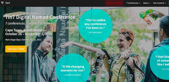 7in7 Digital Nomad Conference. Año 5: Norte América